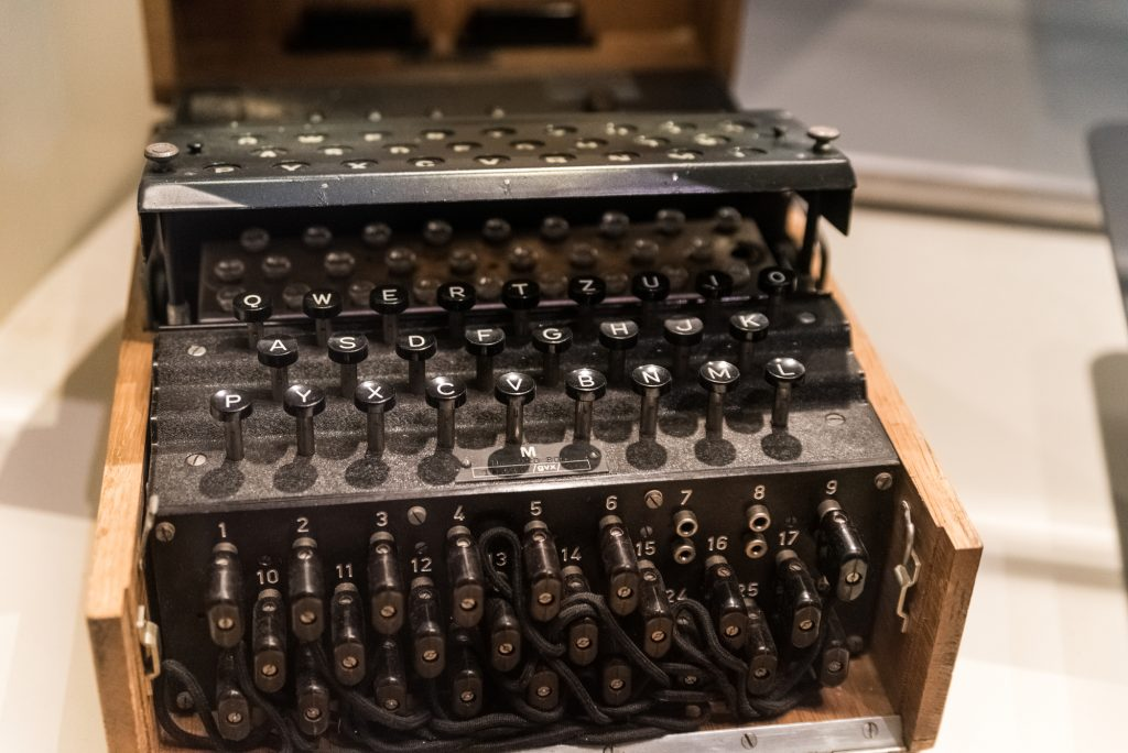 """""""Энигма"""" переносная шифровальная машина"""
